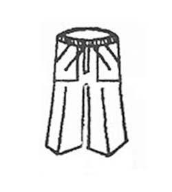 Calças de uniformes profissionais